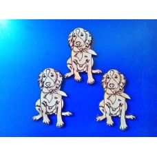 3mm MDF Irish Setter Dog